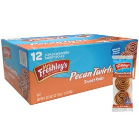 Mrs. Freshley's Pecan Twirls (3oz  /12pk)