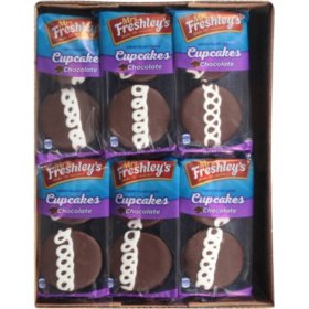 Mrs. Freshley's Chocolate Cupcakes (4oz / 12pk)