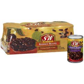 S&W Kidney Beans (15.25 oz., 8 ct.)
