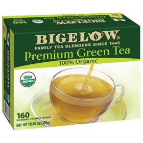 Bigelow Premium Organic Green Tea (160 ct.)