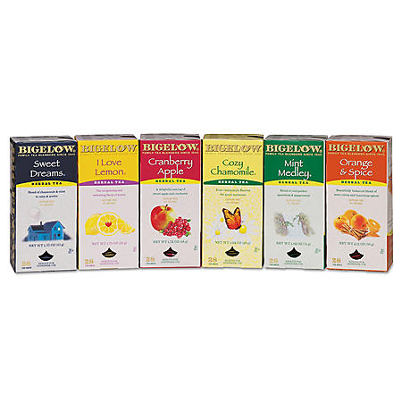 Bigelow Assorted Tea Packs (168 ct.)