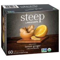 steep by Bigelow Lemon Ginger Herbal Tea ( 60 ct.)