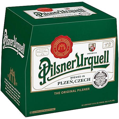 Pilsner Urquell Lager (11.2 fl. oz. bottle, 12 pk.)