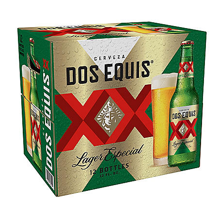 Dos Equis Mexican Lager Beer (12 fl. oz. bottle, 12 pk.)