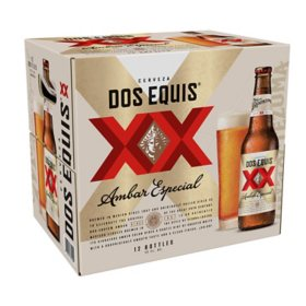 Dos Equis Ambar Mexican Lager Beer (12 oz. bottles, 12 pk.)