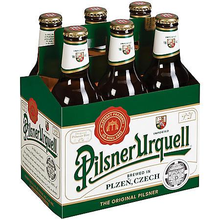 Pilsner Urquell Lager (11.2 fl. oz. bottle, 6 pk.)