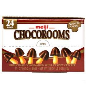 Meiji Chocorooms (0.75oz, 24pk.)