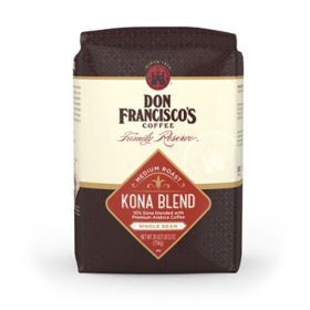 Don Francisco's Family Reserve Medium Roast Whole Bean Coffee, Kona Blend (28 oz.)