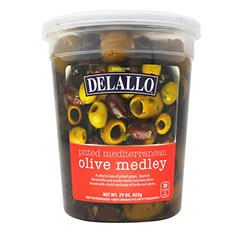 DeLallo Pitted Mediterranean Olive Medley (29 oz.)