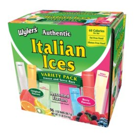Wyler's Authentic Italian Ices (2oz., 96pk.)