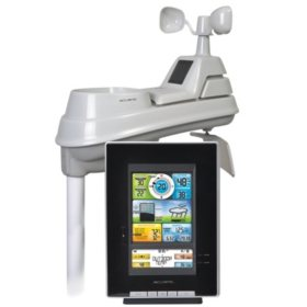 AcuRite Pro 5-in-1 Color Weather Station with Wind and Rain