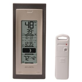 AcuRite Wireless Thermometer with Indoor and Outdoor Temperature and Humidity