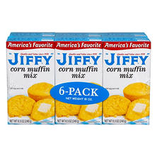 Jiffy Corn Muffin Mix (6 pk., 8.5 oz. ea.)
