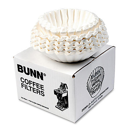 BUNN 12-Cup Commercial Coffee Filters (250 ct./pk., 12 pk.)