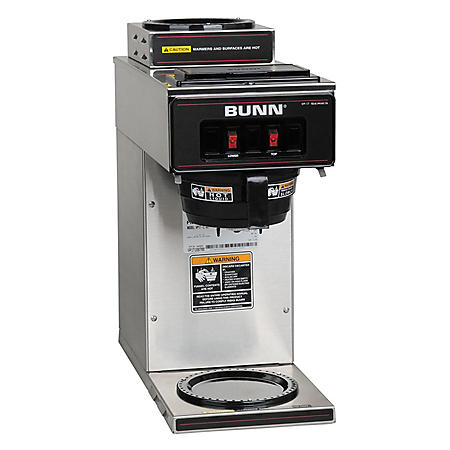 BUNN VP17-2 SST 12-Cup Commercial Pourover Coffee Brewer with 2 Warmers