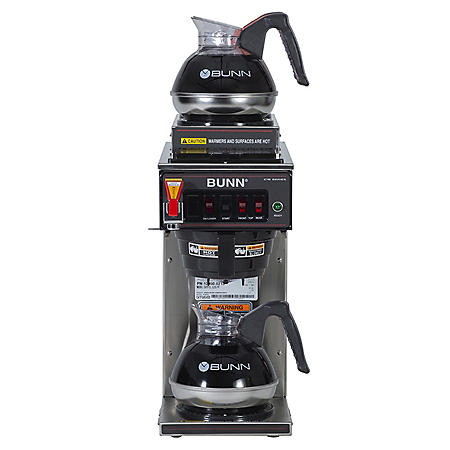 BUNN CWTF-15 12 Cup Automatic Coffee Maker With 3 Warmers