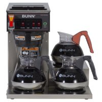 Deals on BUNN CWTF15 12 Cup Automatic Commercial Coffee Maker w/3 Warmers