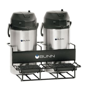 BUNN Universal Coffee Airpot Rack for Two Airpots (Side/Side)