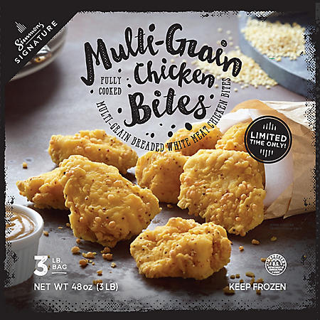 Simmons Signature Multi-Grain Chicken Bites (3 lb.)