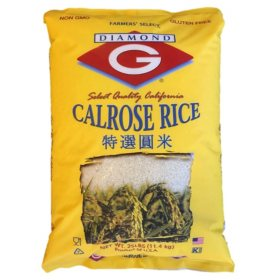 Diamond G Calrose Rice (25 lbs.)