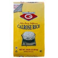 Diamond G Calrose Rice (50 lbs.)