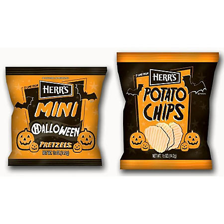 Herr's Halloween Potato Chip Box (42 ct.) or Pretzel Box (42 ct.)