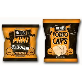 Herr's Halloween Potato Chip Box (42 ct.) or Pretzel Box (42 ct.)