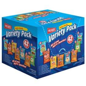 Herr's Variety Pack (42 pk.)