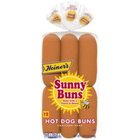 Heiner's Sunny Buns Hot Dog Buns  (12ct.)