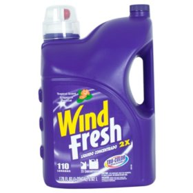 WindFresh Liquid Laundry Detergent Tropical - 110 Loads