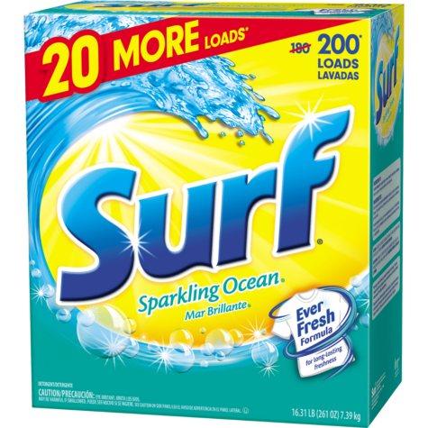 Surf Sparkling Ocean Laundry Detergent  200 loads - 261 oz.