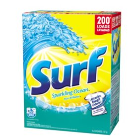 Surf Sparkling Ocean Laundry Detergent Powder (200 loads, 260 oz.)
