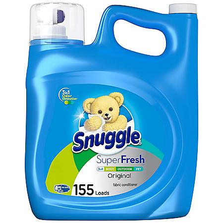 Snuggle Plus SuperFresh (164 oz., 155 loads)