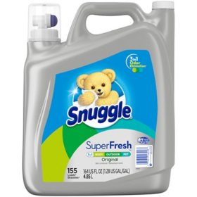 Snuggle Plus SuperFresh (164 oz., 155 loads)