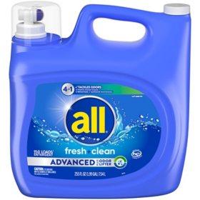 all Advanced 4-in-1 (150 loads., 255 oz.)