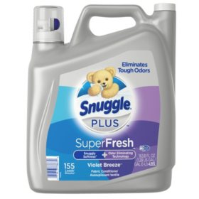 Snuggle Plus Violet Breeze (155 loads, 164 oz.)