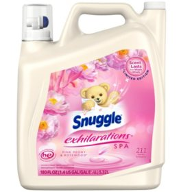 Snuggle Fabric Softener, Pink Peony (180 oz., 211 loads)