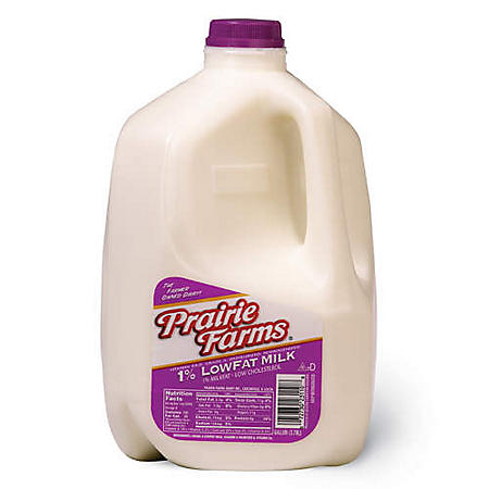 Prairie Farms 1% Low Fat Milk (1 gal.)