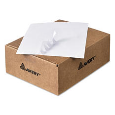 Avery Copier Mailing Labels, 1 x 2 13/16, White, 16500ct.