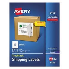 Avery White Inkjet Mailing Labels