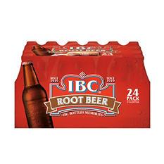 IBC Root Beer (12 oz. glass bottles, 24 pk.)