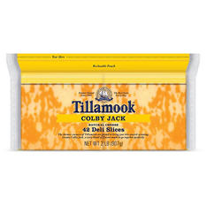 Tillamook Sliced Colby Jack Cheese Slices (32 oz.)
