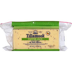 Tillamook Sliced Pepper Jack Cheese Slices (2 lbs.)