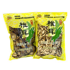 Family Dried Shiitake Mushroom - 16 oz. bag