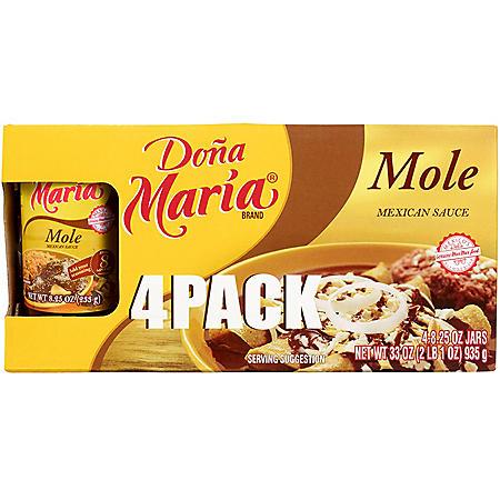 Doña María Mole (8.25 oz., 4 pk.)