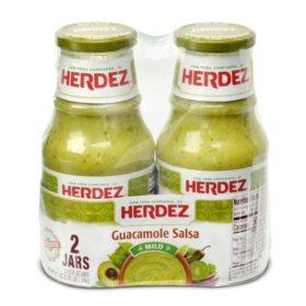 Herdez Guacamole Salsa, Mild (23.6 oz., 2 pk.)