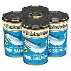 Rubinstein's Pink Salmon - 4/14.75oz