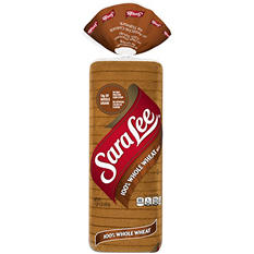 Sara Lee 100% Whole Wheat - 20 oz. - 2 pk.