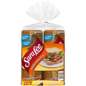 Sara Lee Honey Wheat Bread (20 oz., 2 pk.)