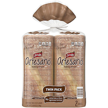 Sara Lee Artesano Bakery Bread (20oz / 2pk)